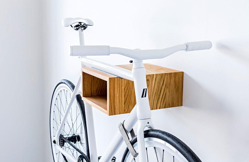 Neues Wandregal fürs Fahrrad: Mikili Gîpon