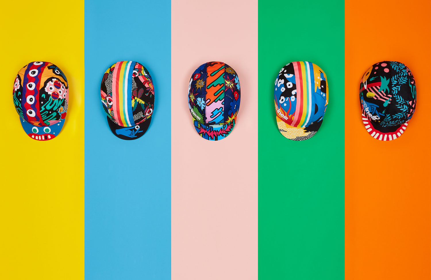 Special Edition: Cycling Caps von Paul Smith + Cinelli