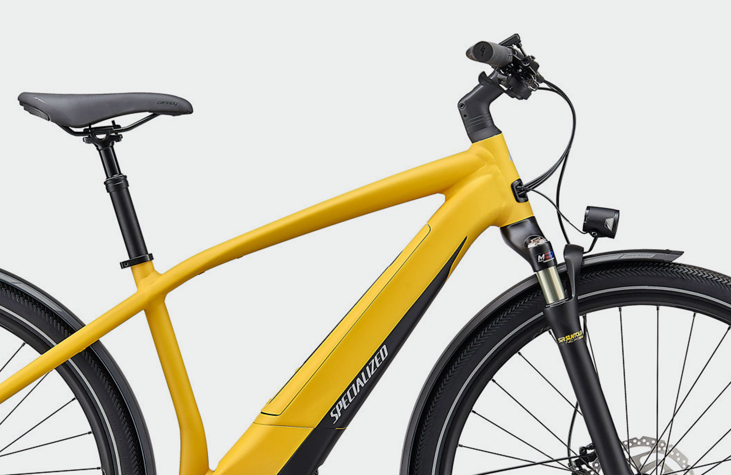 In limitierter Sonderfarbe: Das Specialized Turbo Vado 4.0 in Brassy Yellow