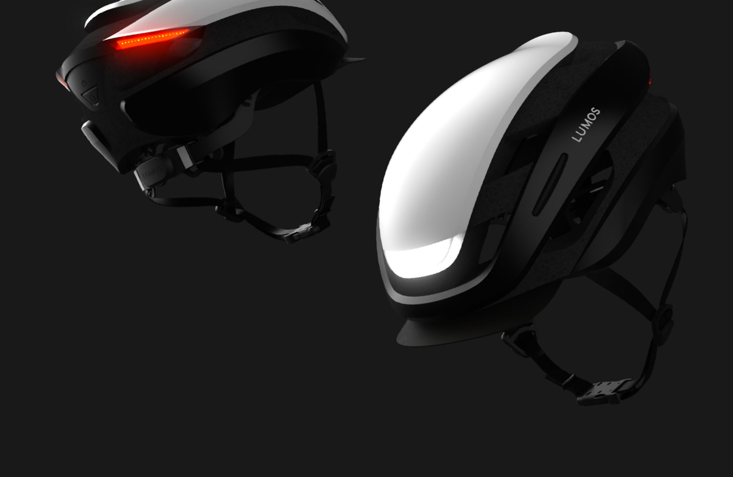 Lumos Ultra: Affordable bicycle helmet with LED lights on Kickstarter