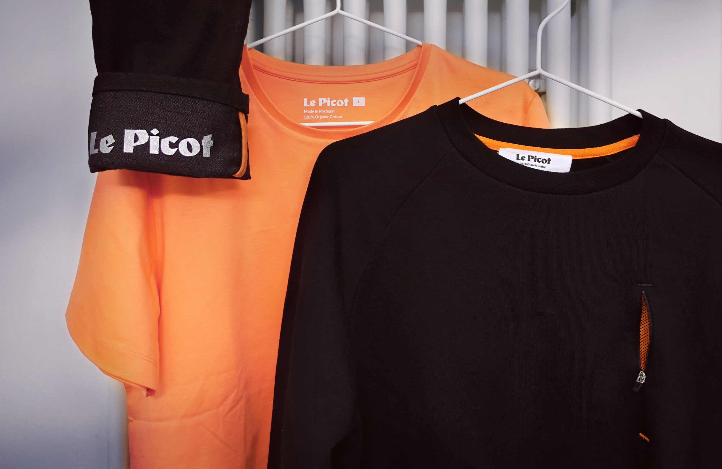 In the check: stylish, functional and sustainable cycling fashion by Le Picot