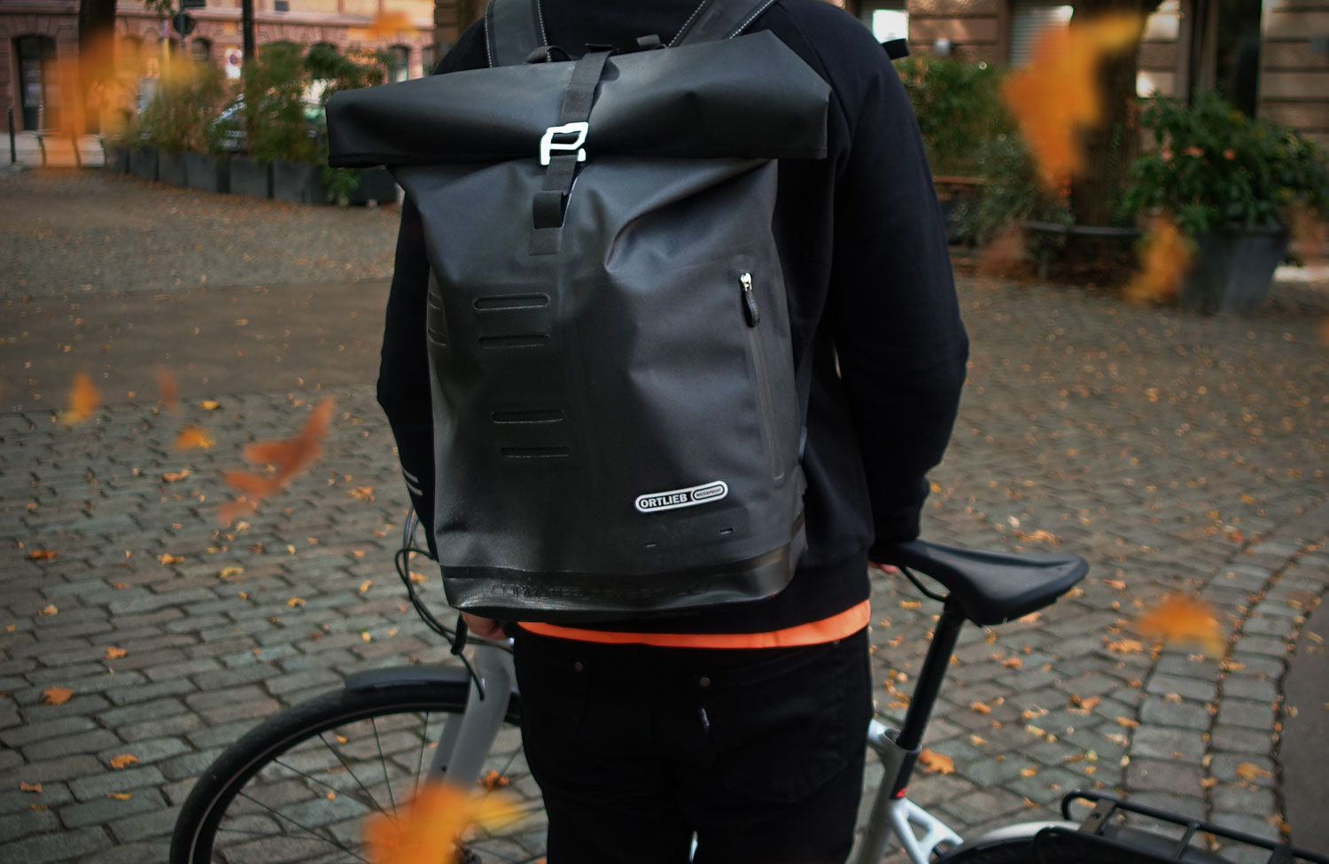 In the check: The bicycle backpack Commuter-Daypack City by Ortlieb
