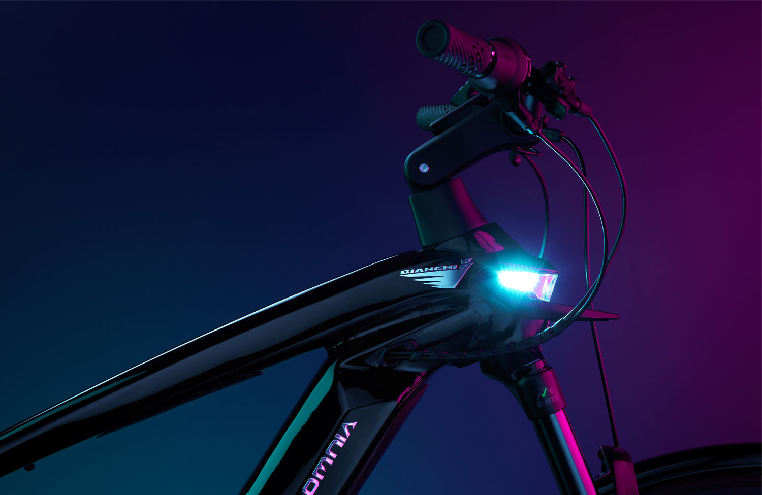 With a whole 8,500 trim options: the new E-Omnia series from Bianchi