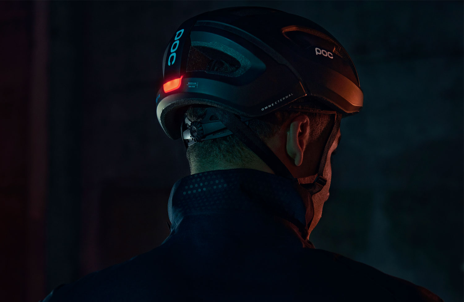 World's first cycling helmet with rear light and endless energy — completely without battery