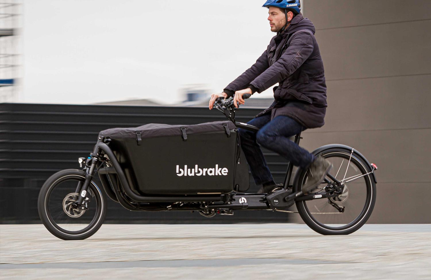 Blubrake introduces the first ABS for cargo e-bikes