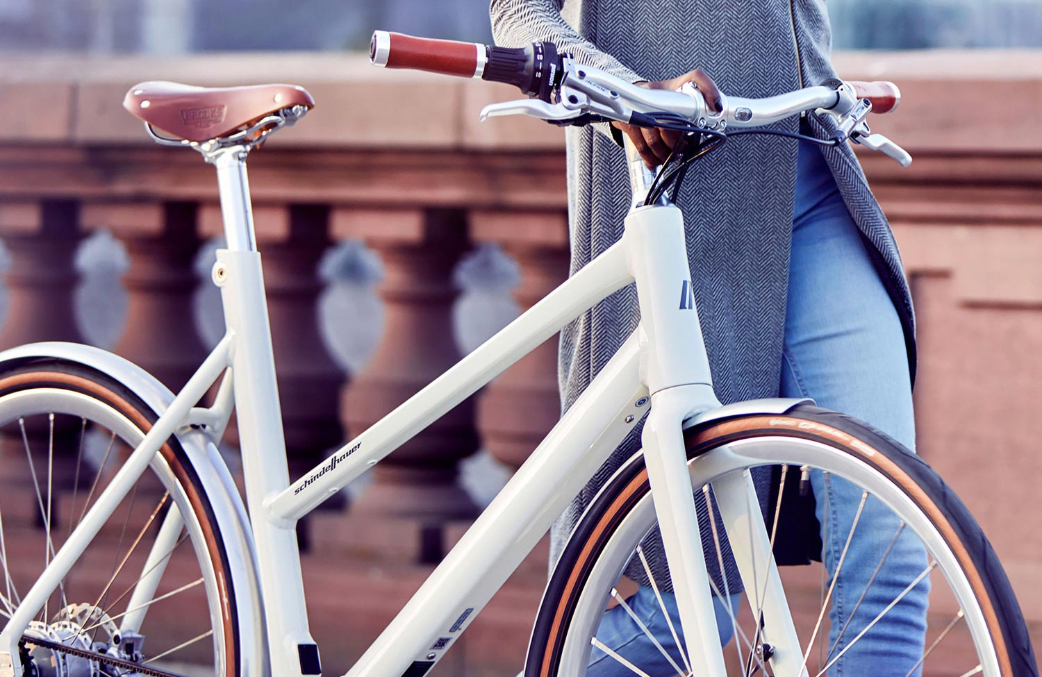 Slim and lightweight e-bikes with comfort frame