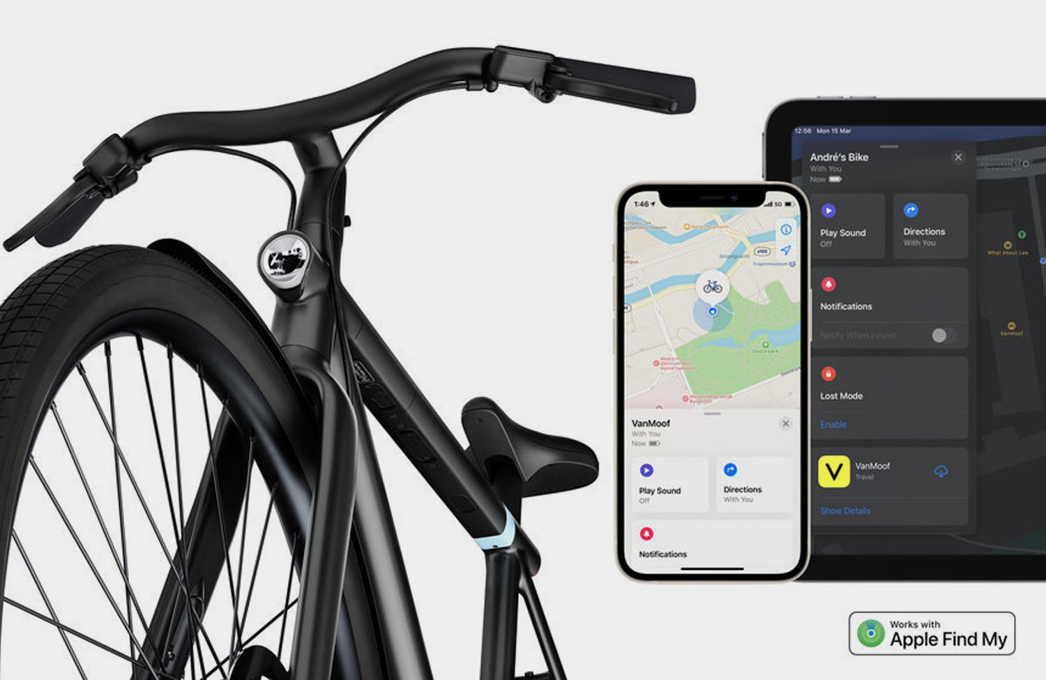 VanMoof S3 and X3 now compatible with Apple Find My App