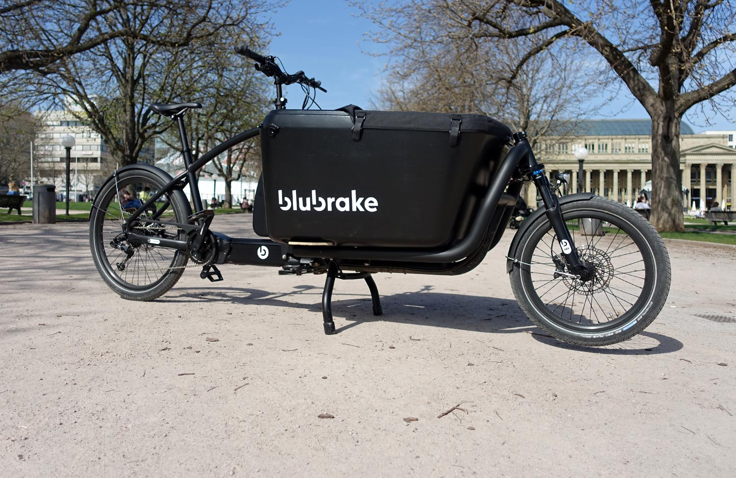 The blubrake anti-lock braking system for bicycles tested