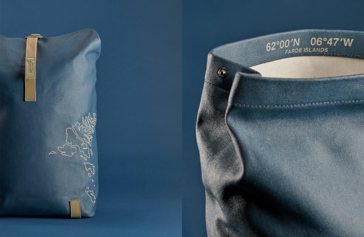 """Limited """"Faroe Islands"""" Edition: the Pickwick Backpack from Brooks England"""