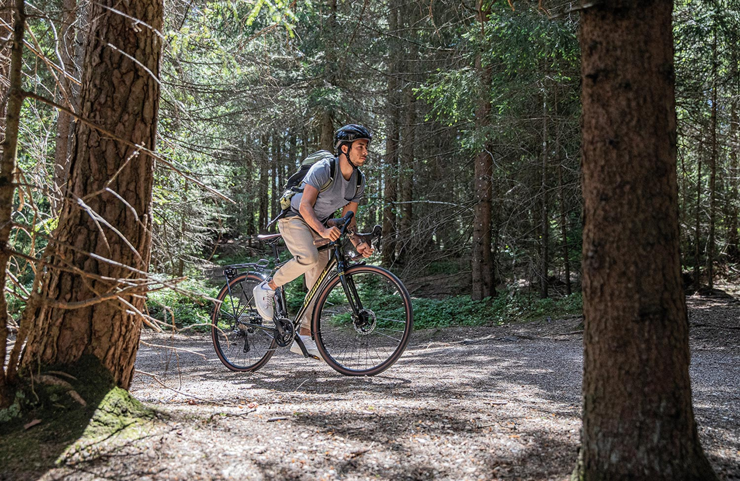 Touring sports bike with tradition: the Diamant 137 gravel commuter bike