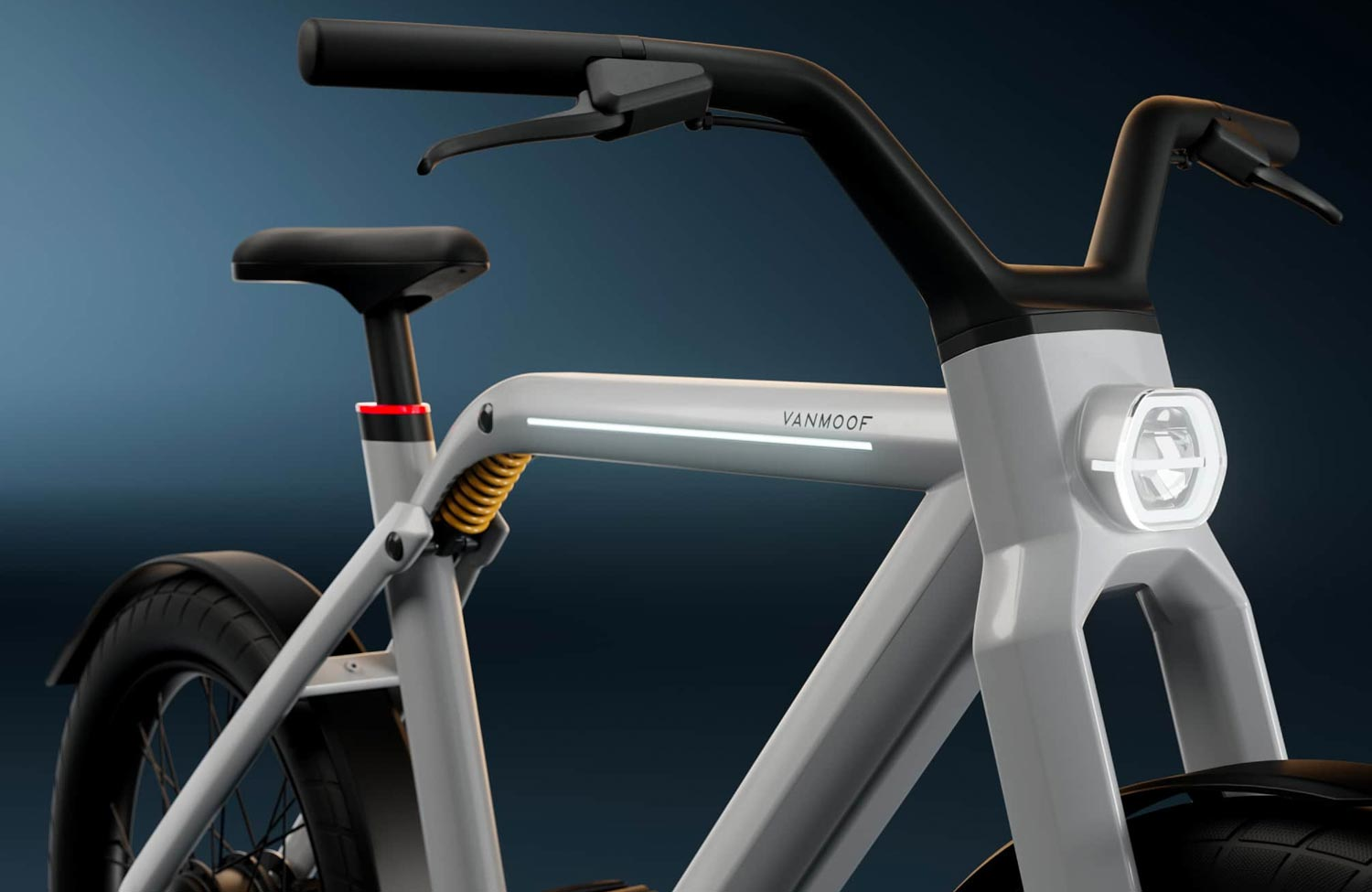 Now official: the new VanMoof V is a high speed e-bike with two motors